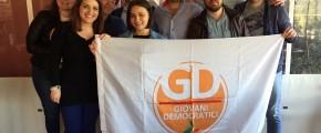 CUSTONACI, ARRIVANO I GIOVANI DEMOCRATICI
